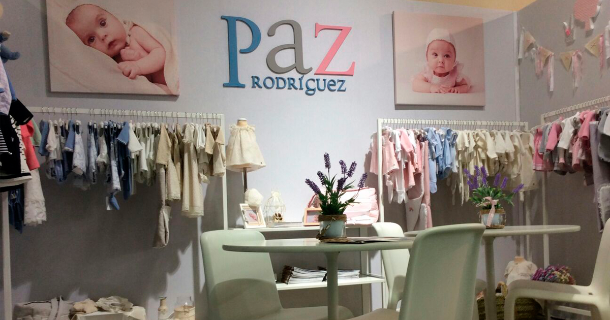 Paz Rodríguez presents clothes at the most exclusive showcases in the world